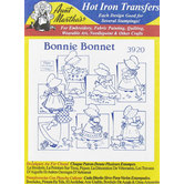 Bonnie Bonnet Embroidery Transfer Pattern